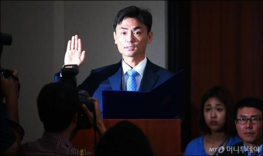 [사진]검증대 선 박성진 중소벤처부 장관 후보자