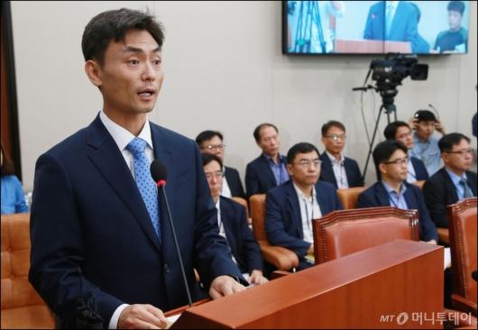 [사진]모두발언하는 박성진 장관 후보자