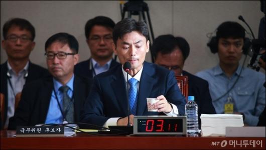 [사진]송곳 검증 받는 박성진 장관 후보자