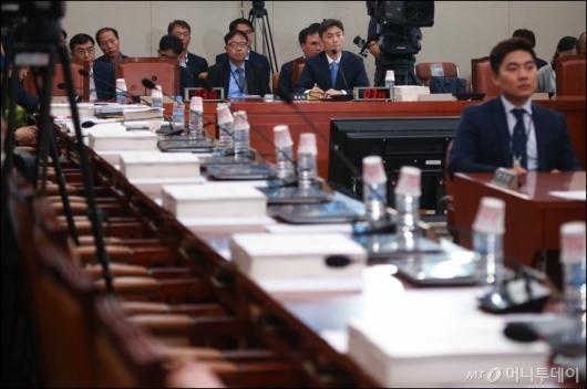 [사진]자유한국당, 박성진 후보자 인사청문회 불참