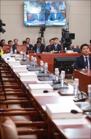 [사진]박성진 후보자 인사청문회 불참한 자유한국당