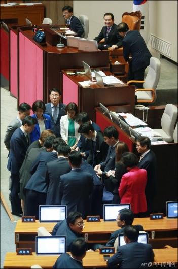 [사진]김이수 인준안 2표차 부결