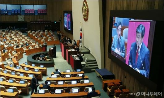 [사진]국회 대정부질의