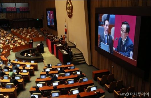 [사진]국회, 이틀재 대정부질의