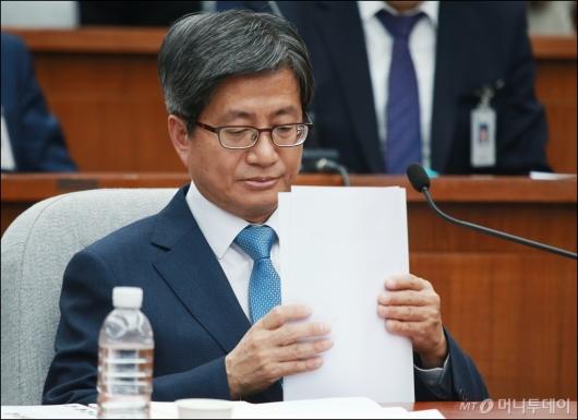 [사진]청문회 준비하는 김명수 대법원장 후보자