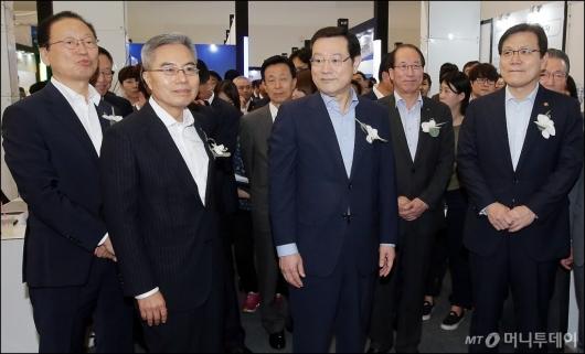 [사진]'금융권 공동 채용박람회' 찾은 금융권 수장들