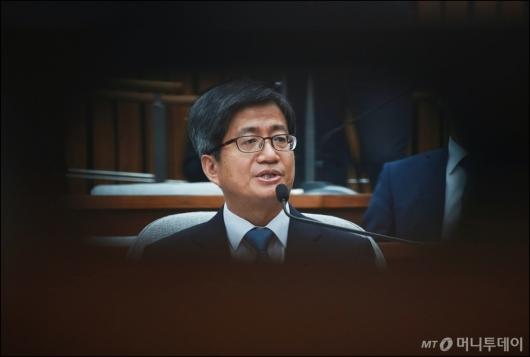 [사진]인준 불투명한 김명수 대법원장 후보자