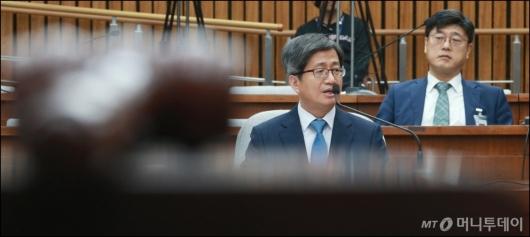 [사진]검증대 통과 불투명한 김명수 대법원장 후보자