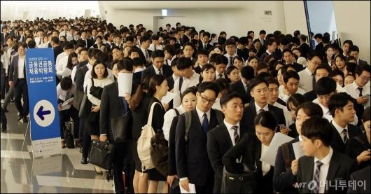 [사진]금융권 공동 채용박람회, '인산인해'