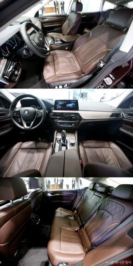[사진]BMW 뉴 6시리즈 그란 투리스모 실내 공간