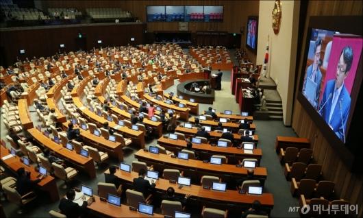 [사진]경제분야 국회 대정부질의