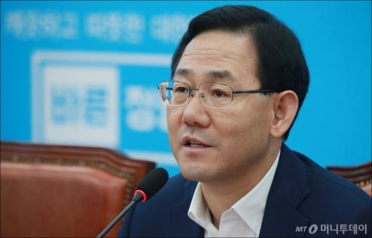 [사진]주호영 '청와대 인사라인, 즉각 사퇴해야'