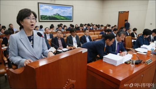 [사진]제안설명하는 김영주 고용노동부 장관