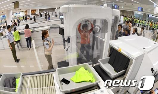 [사진]철통 보안 자랑하는 인천공항 제2터미널