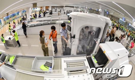 [사진]인천공항 제2터미널 '실전테스트'