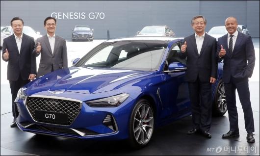 [사진]현대자동차, 제네시스 'G70' 공식 출시