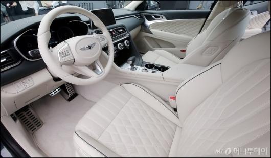 [사진]운전하고 싶은 '제네시스 G70'