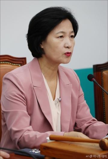 [사진]추미애 '김명수, 사법 개혁·독립 적임자'