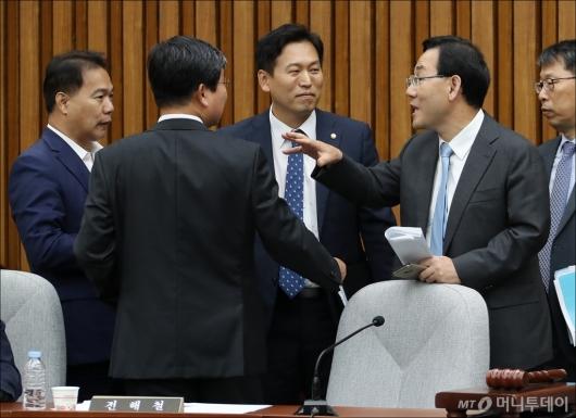 [사진]김명수 청문보고서 채택 난항...해법은?