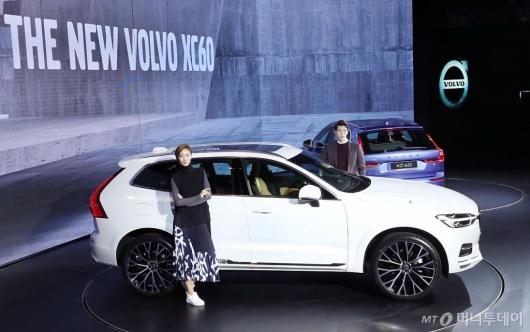 [사진]볼보 더 뉴 XC60, 프리미엄 중형 SUV 시장 돌풍 예고