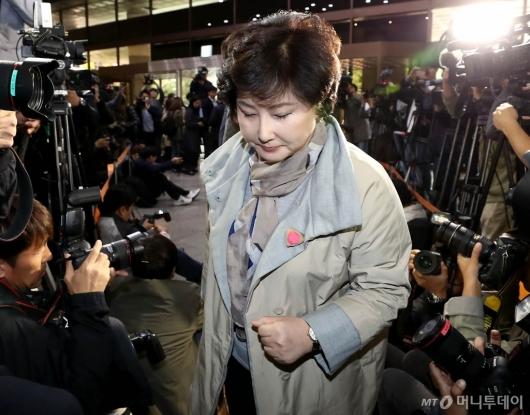 [사진]경찰청 출석하는 서해순