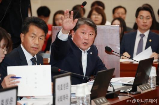 [사진]조원진 '손석희도 증인채택 해달라'