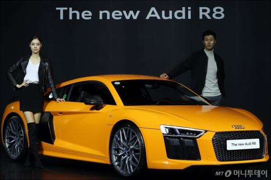 [사진]가장 강력한 아우디 'R8 V10 플러스 쿠페'