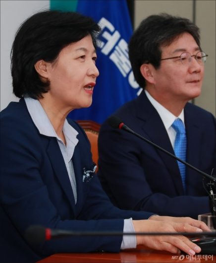 [사진]유승민 만난 추미애