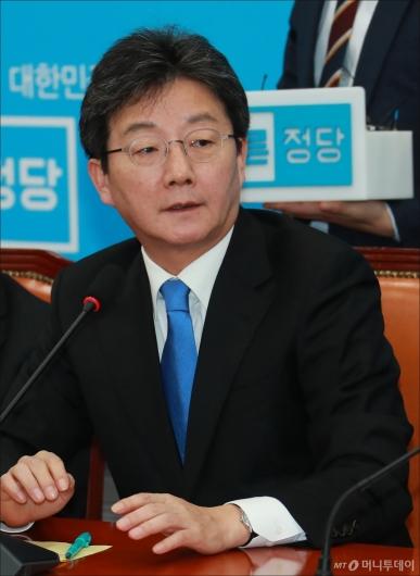 [사진]발언하는 유승민 바른정당 신임 대표