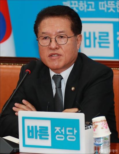 [사진]발언하는 정운천 최고위원