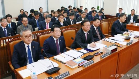 [사진]행안위 예산심사 전체회의