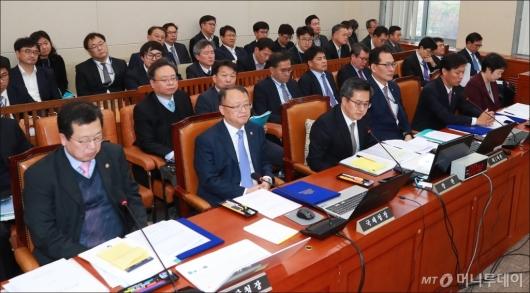 [사진]기재위 예산심사 전체회의