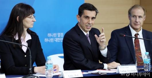[사진]IMF 연례협의 결과 발표