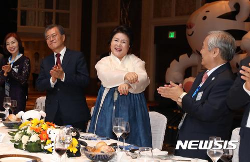 [사진]김정숙 여사의 '평창스타일'