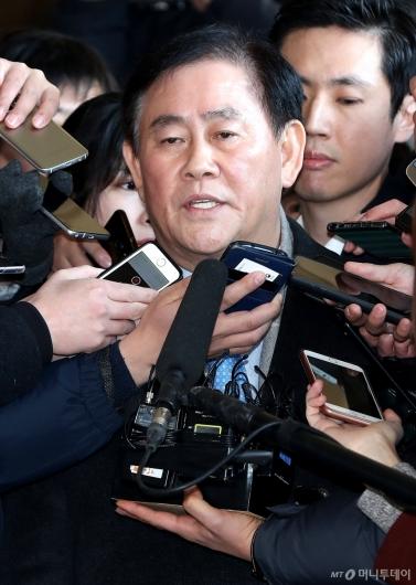 [사진]최경환 의원, 검찰 출석