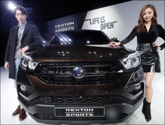 [사진]렉스턴 스포츠, 'SUV 시장 출사표'