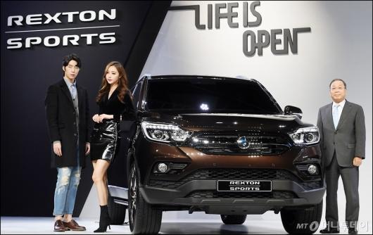 [사진]쌍용자동차, '렉스턴 스포츠' SUV 시장 출격!