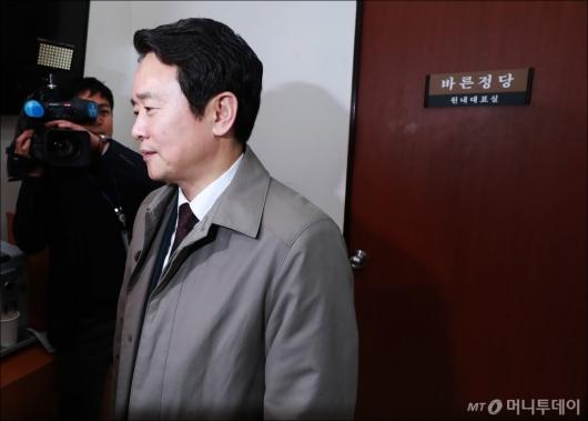 [사진]바른정당 떠나는 남경필 경기지사
