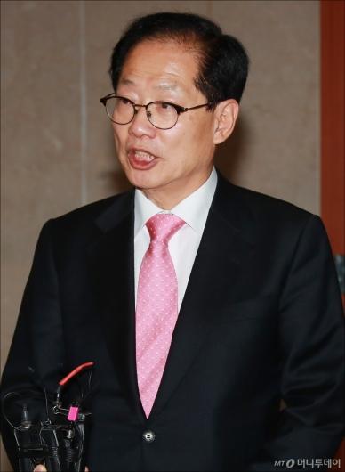 [사진]오제세 의원, 충북도지사 출마 선언