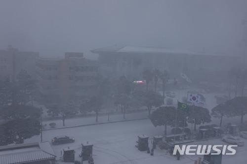 [사진]눈이 내리는 제주