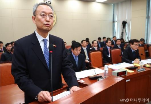 [사진]백운규, 4차산업혁명 특별위 업무보고