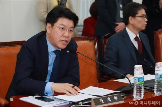 [사진]사개특위 한국당 간사로 선임된 장제원 의원
