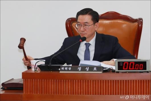 [사진]사개특위 위원장 선임된 민주당 정성호 의원