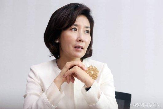나경원, IOC에 '남북 단일팀 반대 서한'