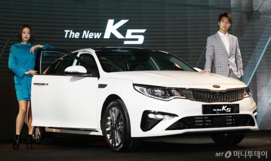 [사진]새롭게 돌아온 '더 뉴 K5'