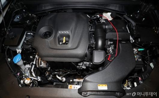 [사진]기아자동차 '더 뉴 K5'의 엔진