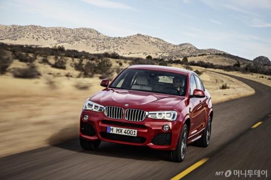 [시승기]SUV와 세단의 감성을 동시에 BMW 'X4'