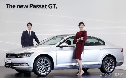[사진]폭스바겐 신형 '파사트 GT' 공개