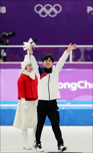 [사진]김민석, '깜짝 동메달 땄어요'