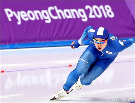 [사진]김민석, '아무도 몰랐던 동메달 질주'